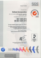 Certified ISO 13485-2016